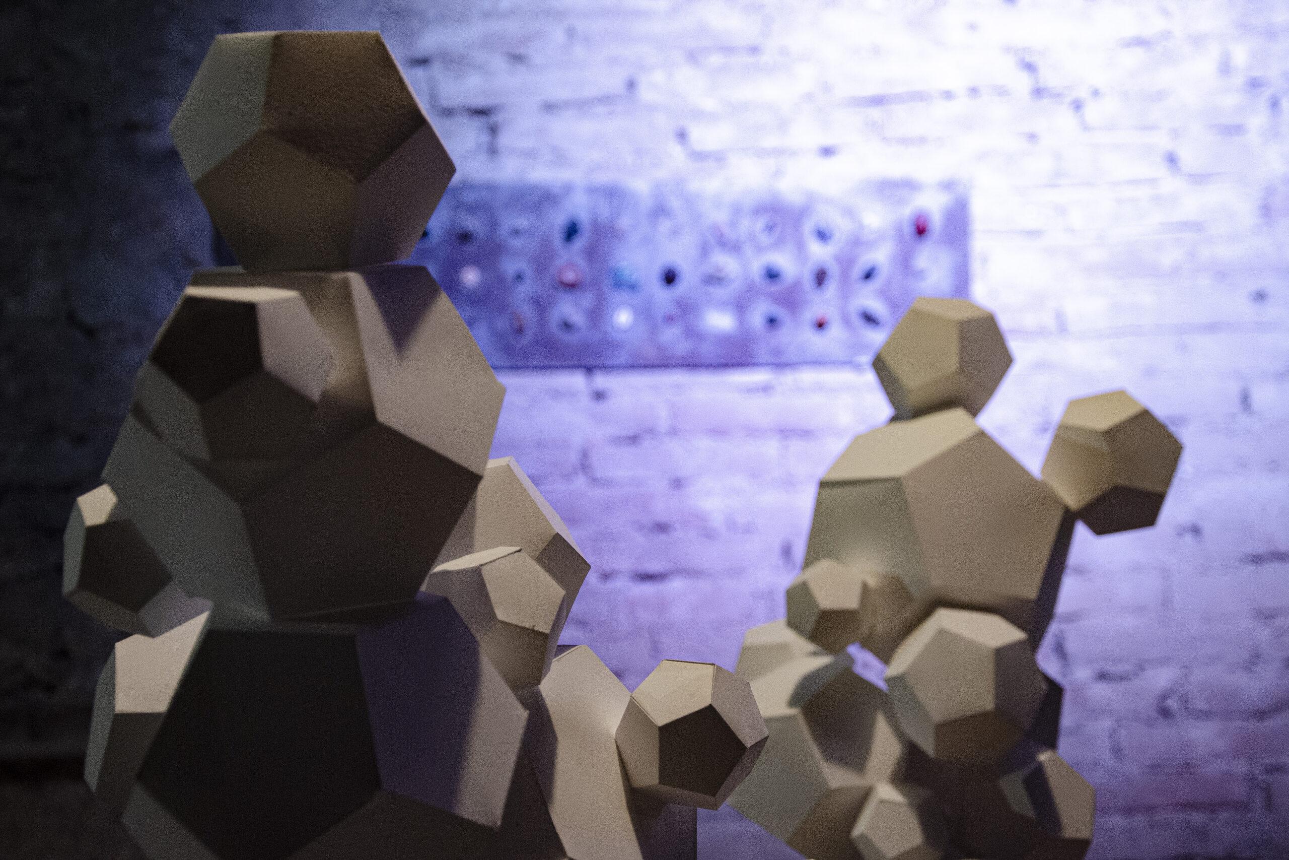 tiziano ronchi mostra nature imprint dettaglio espositivo